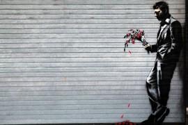 L'artiste de rue Banksy est nommé personnalité de l'année sur Internet