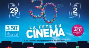 La Fête du Cinéma 2014 souffle ses 30 bougies ce week-end !