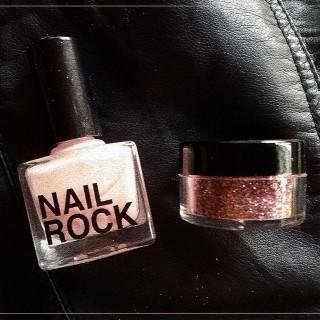Nail Rock : ça envoie de la paillette !
