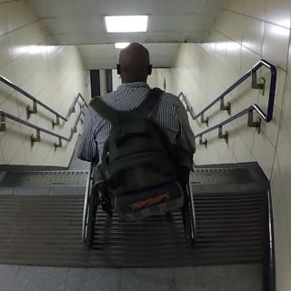 «Race The Tube» le nouveau challenge défié en fauteuil roulant