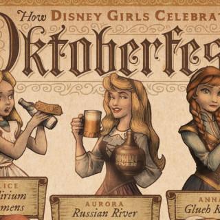 Quand les princesses Disney célèbrent l'Oktoberfest