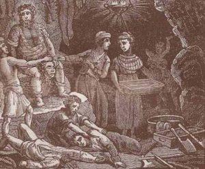 Sawney et sa famille